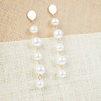 MAX Faux Pearl Hanging Earrings