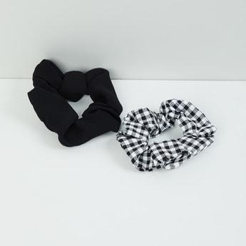 MAX Printed Scrunchie - Set of 2