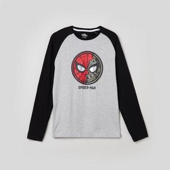 MAX Printed Crew Neck T-shirt