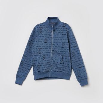 MAX Printed High Neck Sweatshirt
