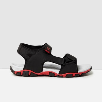 MAX Textured Casual Sandals