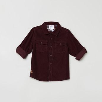 MAX Textured Corduroy Shirt