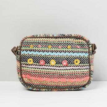 MAX Mirror Embellished Sling Bag