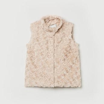 MAX Textured Sleeves Jacket
