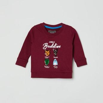 MAX Embellished Crew Neck Sweatshirt