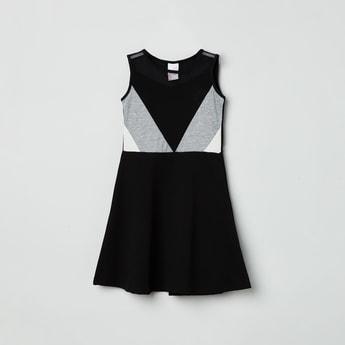 MAX Colourblocked A-Line Dress