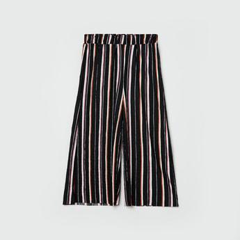 MAX Striped Elasticated Culottes