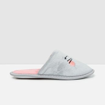 MAX Embroidered Bedroom Slippers