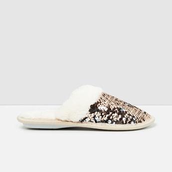 MAX Embellished Bedroom Slippers