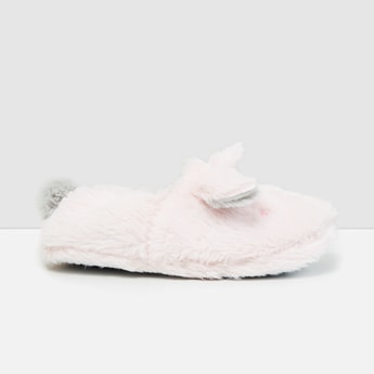MAX Applique Detailed Room Slippers