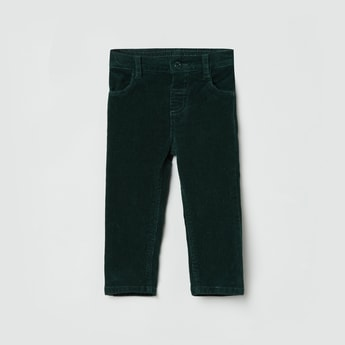 MAX Textured Corduroy Pants