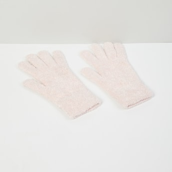 MAX Solid Furry Gloves