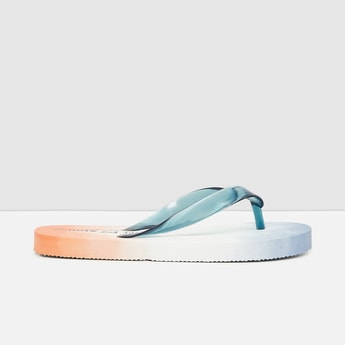 MAX Printed V-Strap Flip Flops