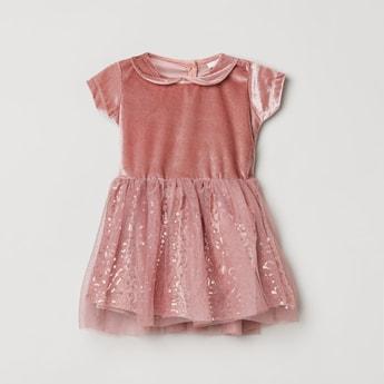 MAX Sequins Embellished A-Line Dress