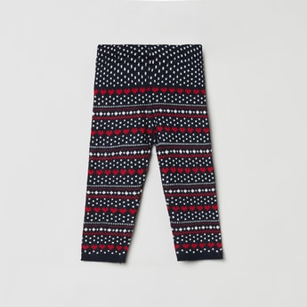 MAX Textured Woven Elasticated Waist Pants