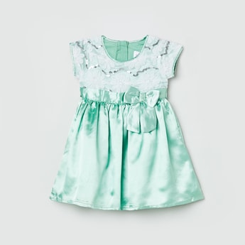 MAX Embellished A-Line Dress