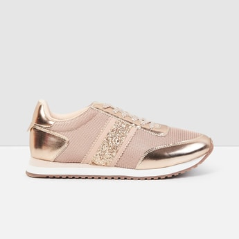 MAX Textured Casual Lace-Up Shoes