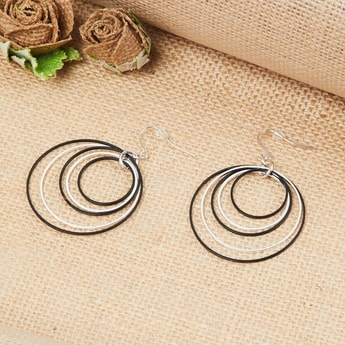 MAX Solid Round Drop Earrings