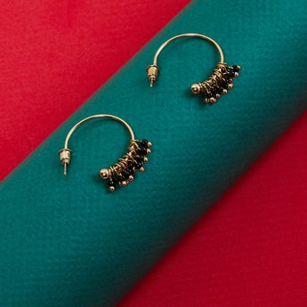 MAX Beaded Drop-Earrings