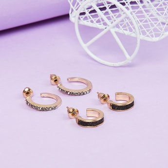 MAX Textured Hoops- Set of 2