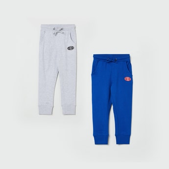MAX Solid Full-Length Joggers - Set of 2