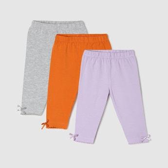 MAX Solid Leggings - Pack Of 3