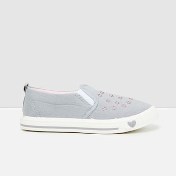 MAX Embellished Slip-On Shoes