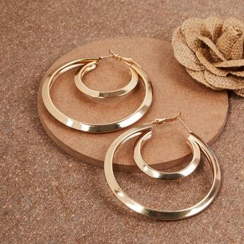 MAX Solid Hoop Earrings