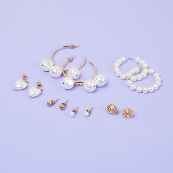 MAX Assorted Set Of Earrings - Pack of 6