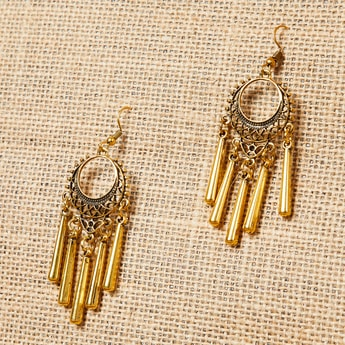 MAX Beaded Dangle Earrings