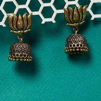MAX Lotus Design Jhumkas