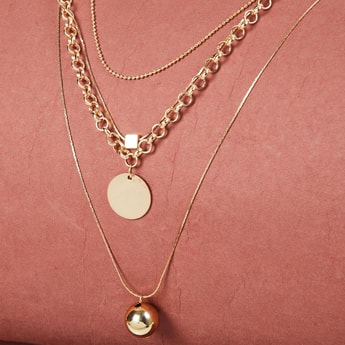 MAX Solid Layered Necklace