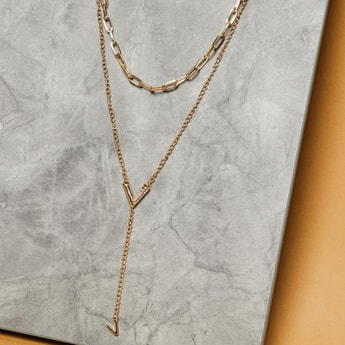 MAX Embellished Layered Necklace