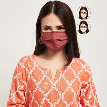 MAX Printed Face Mask - Set of 3