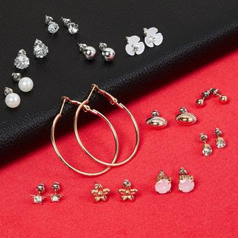 MAX Embellished Earrings- Set of 12