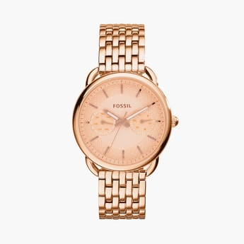 FOSSIL Women Multifunction Watch with Metal Strap - ES3713