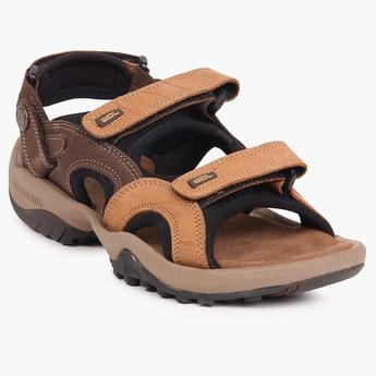 WOODLAND Strap Along Floater Sandals