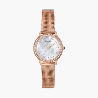 GUESS Women Metal Analog Wristwatch-W0647L2