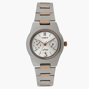 TIMEX Multifunction Round Dial Watch- TW000J109