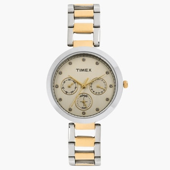 TIMEX Multifunction Round Dial Watch- TW000X213