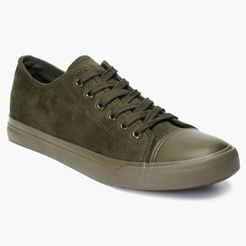 FORCA Suede Laceup Sneakers