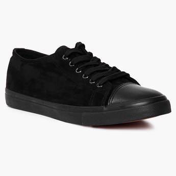 FORCA Solid Lace-Up Sneakers