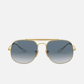 RAY-BAN Men Solid UV-Protected Aviators - 0RB3561-0013F-57