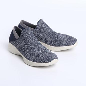 SKECHERS Textured Walking Shoes