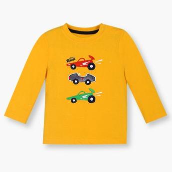 FS MINI KLUB Patchwork Full Sleeves T-Shirt