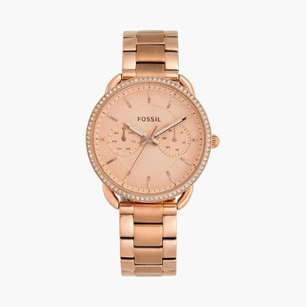 FOSSIL Women Multifunction Watch with Metal Strap - ES4264