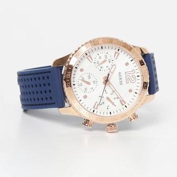 GUESS Women Chronograph Textured Strap Analog Watch - W1025L4
