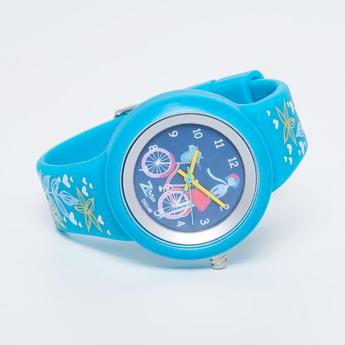 ZOOP Printed Analog Watch - NK26006PP03