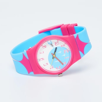 ZOOP Coloublock Analog Watch - NKC3028PP09