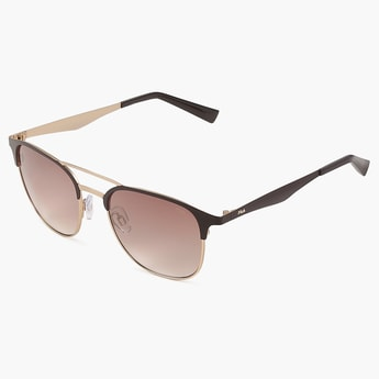 FILA UV Gradient Lens Square Sunglasses